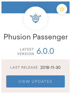 Phusion Passenger 6.0.0 Release Notes