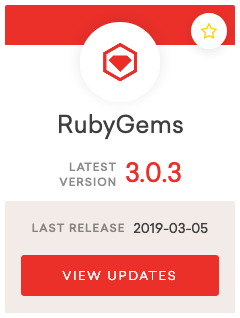RubyGems 3.0.3 release notes