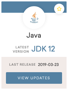 Java JDK 12 release notes