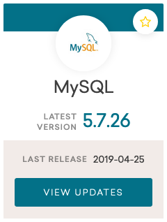 mysql 5.7.26 release notes