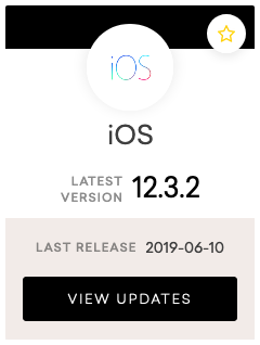 iOS - 12.3.2 release notes
